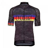 [해외]CYCOLOGY Hill Short Sleeve Jersey 1138293433 Black
