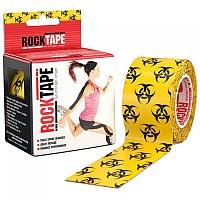 [해외]ROCK TAPE Standard 5cmx5m Kinesiology Tape 3138294958 Yellow / Black