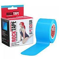 [해외]ROCK TAPE Standard Intl 5cmx25cm Pre-Cut Kinesiology Tape 3138294965 Blue