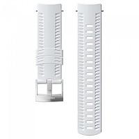 [해외]순토 Athletic 1 Silicone Strap 3136881590 White / Steel
