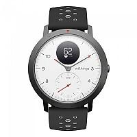 [해외]WITHINGS Steel HR Sport Watch 3137116826 White / Black