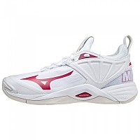 [해외]미즈노 Wave Momentum 2 Shoes 3138140644 White / Red / White Sand