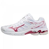 [해외]미즈노 Wave Voltage Shoes 3138140646 White / Persian Red / Sand