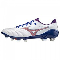 [해외]미즈노 Morelia Neo III Beta Elite Mix Football Boots 3138140704 White / High Risk Red / 280C