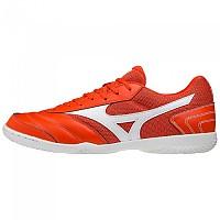 [해외]미즈노 Morelia Sala Club IN Indoor Football Shoes 3138140741 Cherry Tomato / White