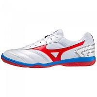 [해외]미즈노 Morelia Sala Club IN Indoor Football Shoes 3138140742 White / High Risk Red