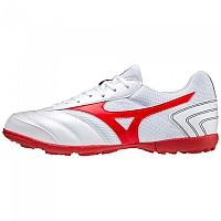 [해외]미즈노 Morelia Sala Classic TF Football Boots 3138140743 White / High Risk Red 2