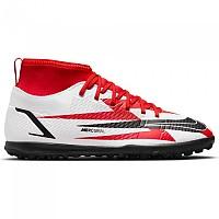 [해외]나이키 Mercurial Vapor Superfly VIII Club CR7 TF Football Boots 3138253326 Chile Red / Black-White-Total Orange