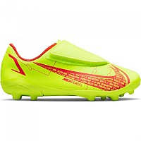 [해외]나이키 Mercurial Vapor XIV Club MG Football Boots 3138253356 Volt / Bright Crimson