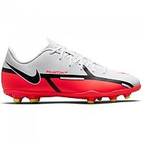 [해외]나이키 Phantom GT2 Club FG/MG Football Boots 3138253639 White / Bright Crimson-Volt