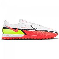 [해외]나이키 React Phantom GT2 Pro TF Football Boots 3138253762 White / Bright Crimson-Volt