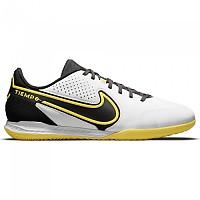 [해외]나이키 React Tiempo Legend IX Pro IC Indoor Football Shoes 3138253764 White / Dk Smoke Grey-Black-Yellow Strike