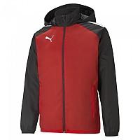 [해외]푸마 TeamLiga All Weather Jacket 3138158842 Puma Redma Black