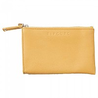 [해외]립컬 Mini Rfid Leather Coin Purse Wallet Caramel