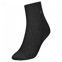 [해외]타미힐피거 Short Cable Sparkle Socks Black