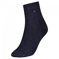 [해외]타미힐피거 Short Cable Sparkle Socks Navy