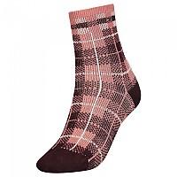 [해외]타미힐피거 Short Disruptive Check Socks Brown