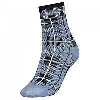 [해외]타미힐피거 Short Disruptive Check Socks Light Blue