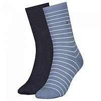 [해외]타미힐피거 Small Stripe Socks 2 Pairs Light Blue
