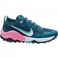 [해외]나이키 Wildhorse 7 Trail Running Shoes 4138128578 Dark Teal Green / Ghost / Armory Navy