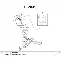 [해외]시마노 BL-M640/675 1137974691 Silver
