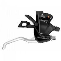 [해외]SUNRACE Brake Lever Set With Shifter 1137796856 Black