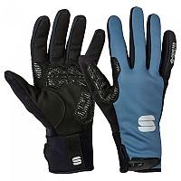 [해외]스포츠풀 Essential 2 Windstopper Long Gloves 1138205733 Blue Sea Black