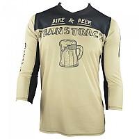 [해외]JEANSTRACK Bike & Beer 3/4 Sleeve T-Shirt 1138308054 Beige