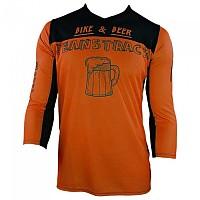 [해외]JEANSTRACK Bike & Beer 3/4 Sleeve T-Shirt 1138308056 Orange