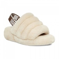 [해외]UGG Fluff Yeah Slide Slippers Natural