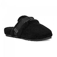 [해외]UGG Fluff It Slippers Black Tnl Fluff
