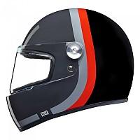 [해외]넥스 XG.100R Speedway Full Face Helmet 9137764711 Grey / Red