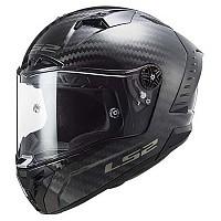[해외]LS2 FF805 Thunder Carbon Solid Full Face Helmet 9137865427 Gloss Carbon