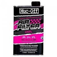 [해외]MUC OFF Air Filter Oil 1L 9138307543 Black / Pink