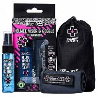 [해외]MUC OFF Spray. Cloth And Transport Bag Kit For Helmet 9138307571 Black