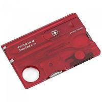 [해외]빅토리녹스 SwissCard Lite 4137863260 Red / Clear