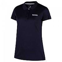 [해외]레가타 Maverick IV Short Sleeve Polo Shirt 4137029401 Navy