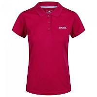 [해외]레가타 Maverick IV Short Sleeve Polo Shirt 4137029406 Dark Cerise