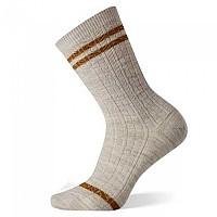 [해외]스마트울 Tube Stripe Cable Crew Socks 4138212152 White