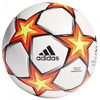 [해외]아디다스 UCL League J290 Football Ball 3138111643 White / Solar Red / Solar Yellow / Black