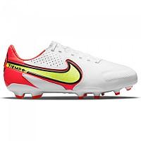 [해외]나이키 Tiempo Legend 9 Pro FG Football Boots 3138253191 White / Volt-Bright Crimson
