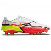 [해외]나이키 Phantom GT2 Academy FlyEase MG Football Boots 3138253615 White / Bright Crimson-Volt