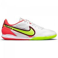 [해외]나이키 React Tiempo Legend IX Pro IC Indoor Football Shoes 3138253765 White / Volt-Bright Crimson