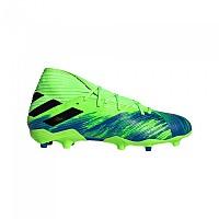 [해외]아디다스 Nemeziz 19.3 FG Football Boots Refurbished 3138322946 Signal Coral / Core Black / Royal Blue