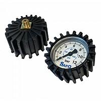[해외]BONIN Air Pump Pressure Gauge 1138301848 Black