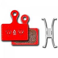 [해외]CUBE Shimano Direct Mount RS505/RS805 Disc Brake Pads 2 Units 1138285162 Red