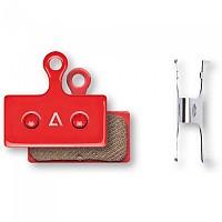 [해외]CUBE Shimano XTR M9000-9020/XT M8000/SLX M666/Alfine S700 Disc Brake Pads 2 Units 1138285167 Red