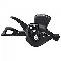 [해외]시마노 Deore M4100 I-Spec EV Right With Indicator Shifter 1137973347 Black