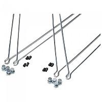 [해외]BONIN Set Of Rods And Clamps For Condor Mudguards 1138301917 Silver