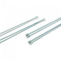 [해외]BONIN Double Rods For Mudguard 1138304443 Silver
